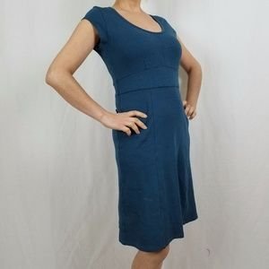 Toad&Co Dresses - TOAD & CO.  (Horny tod) BLUE ATHLETIC MIDI DRESS