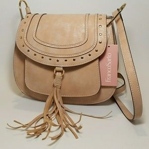 FrancoSarto Women's Handbag Soft Pink