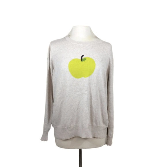 6f9e1a2f Halogen Sweaters | Plus Size Graphic Apple Print Sweater By | Poshmark