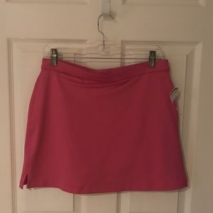 NWT adidas Pink Skort in a size 6. Climacool