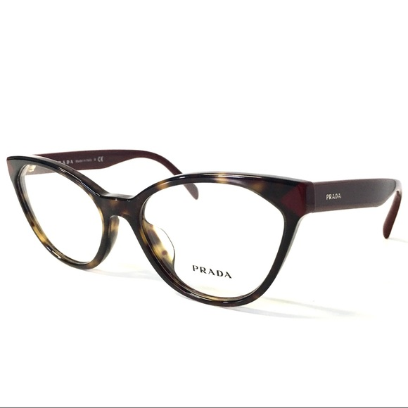 5bd2249fc81a Prada Accessories | Eyeglasses Tortoise Burgundy Cat Eye New | Poshmark