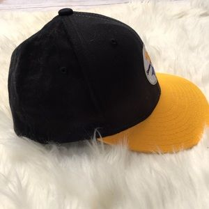 1049d9de982 NFL Accessories - Pittsburgh Steelers NFL Hat Cap Yellow Black S   M