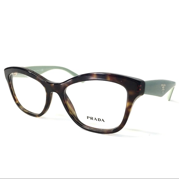 67801ea3d4d3 Prada Eyeglasses Tortoise Mint Green Cat Eye NEW. M_59fe3fa9291a355e270a237d