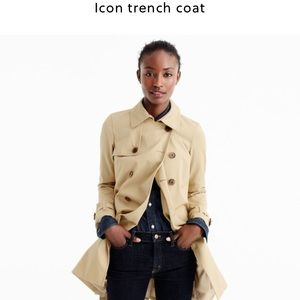 J. Crew Icon Trench Coat 0