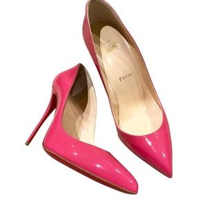Christian Louboutin Hot Pink Pigalle Follies