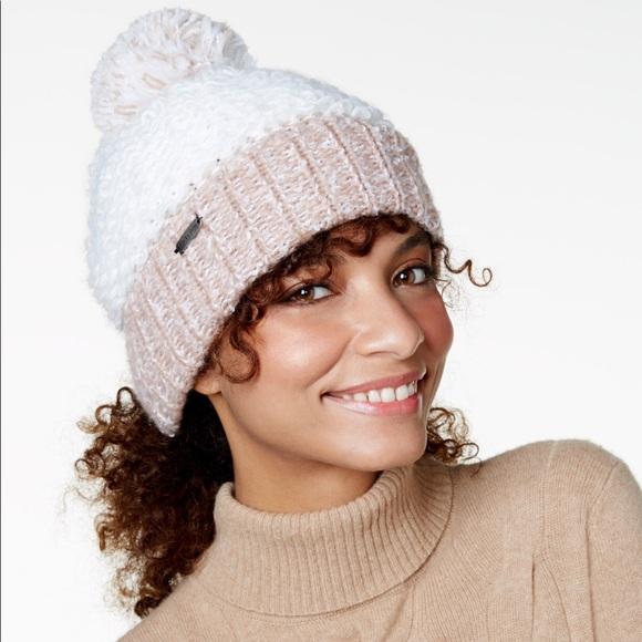 aa623086ee72e women s beanie! soft cable fold beanie with pom
