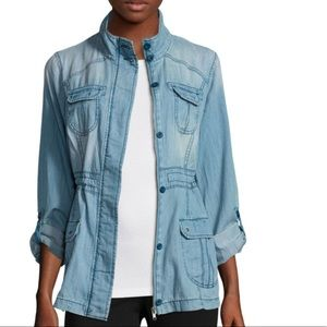 Jackets & Blazers - Denim Jacket Button Up Pockets Jean Jacket