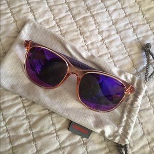 Carrera 5001 Mirrored Lens Sunglasses
