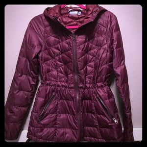 Athleta down with it jacket size xs