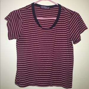 Tops - simple striped tee