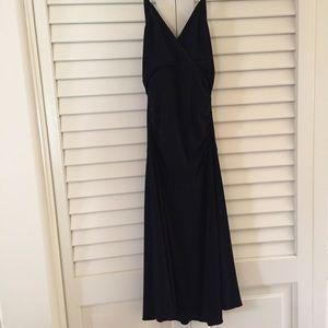 Velvet Torch Black Halter Tie Jersey Knit Dress