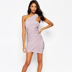 ASOS One Shoulder Bodycon Dress
