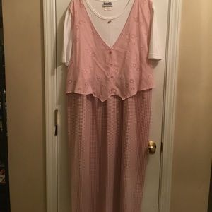 Vintage 90s Plus size dress