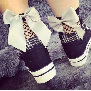 Accessories - 3/10$🔴SALE choice of colors BOW  fishnet socks