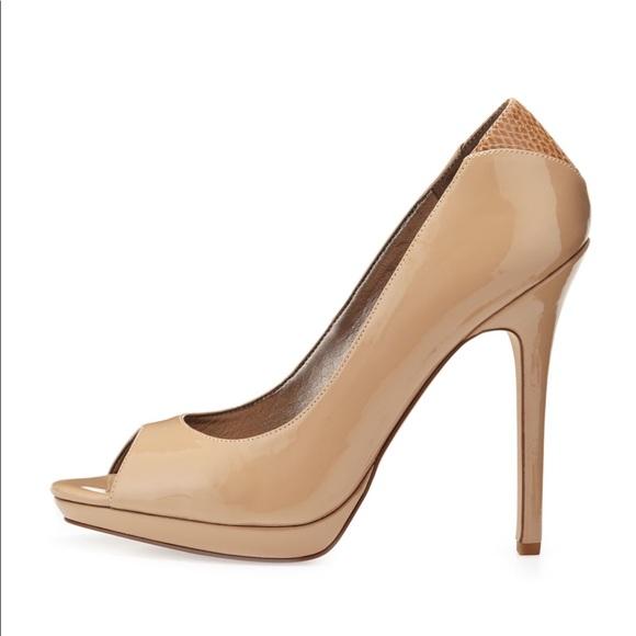 6902f26fc Sam Edelman  Ella  platform peep toe pumps size 10.  M 59fe4f197fab3a1af20a5984
