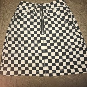 UNIF Checkered Skirt (AUTHENTIC)