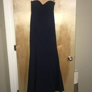 Lulus mermaid navy dress