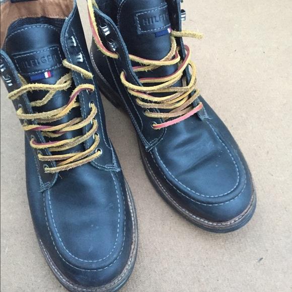 guter Verkauf online zum Verkauf bestbewerteter Beamter Tommy Hilfiger men's boots