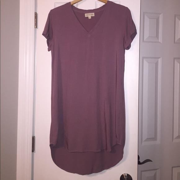 77e7b8e1263 Cloth & Stone Dresses & Skirts - Cloth & Stone T-shirt Dress