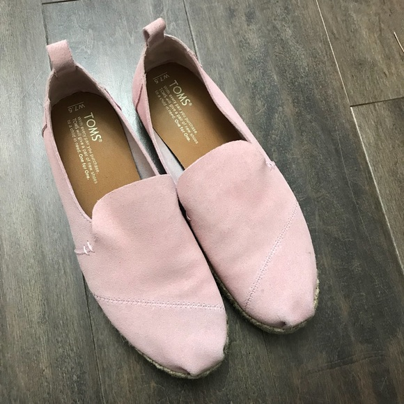 Toms Shoes   Toms Pink Suede