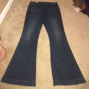 · Ralph Lauren Polo Jeans NWT Flare Dark Denim ·