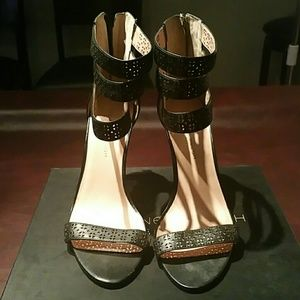 Real Leather High Strap Sandal