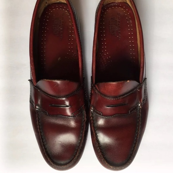 f146ac0b5d8e Bass Other - GH Bass Leather Weejuns Burgundy Mens Loafers
