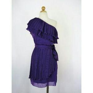 M60 Miss Sixty Ruffled Tiered Chiffon Dress NWT  6