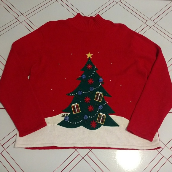 Crystal-Cole Sweaters - Christmas sweater