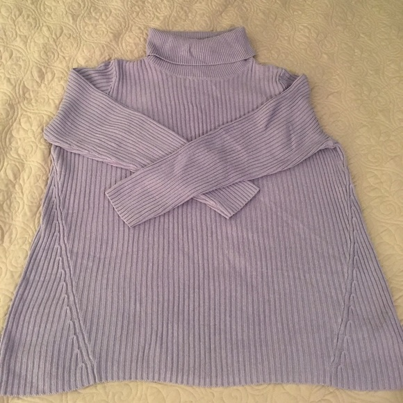 68% off Sonoma Sweaters - Lavender turtleneck sweater from Pam's ...
