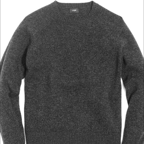 J. Crew Other - J. Crew Lampswool crewneck sweater