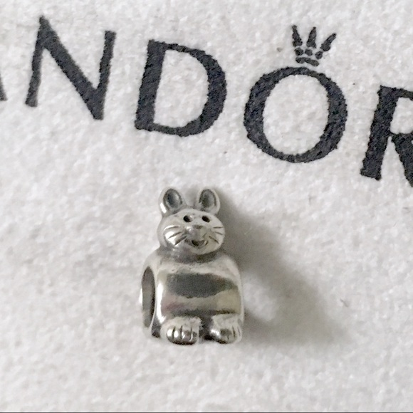 Pandora Pandora Bunny Charm Sterling Silver Retired From