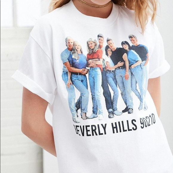 NEW Urban Outfitters Beverly Hills 90210 t shirt f1106ffd6
