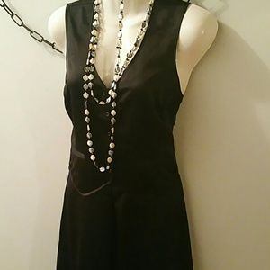 Richard Chai for Target Black Satin Dress Size 5