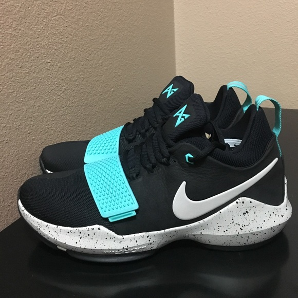 Nike Shoes   Nike Pg Black Aqua   Poshmark