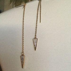 Rebecca Minkoff Threader Earrings