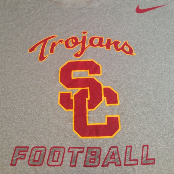 72d14d65 USC TROJANS FOOTBALL TEAM TOP EXCELLENT CONDITION.  M_59fe6ad0522b459ba10af25b. Other Shirts you may like. Men's Nike Workout  Shirt