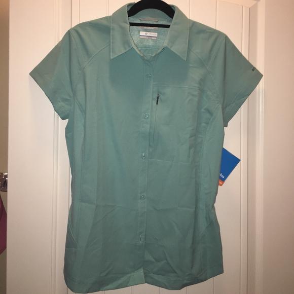 904292aadd4 Columbia Tops | Nwt Silver Ridge Short Sleeve Shirt | Poshmark