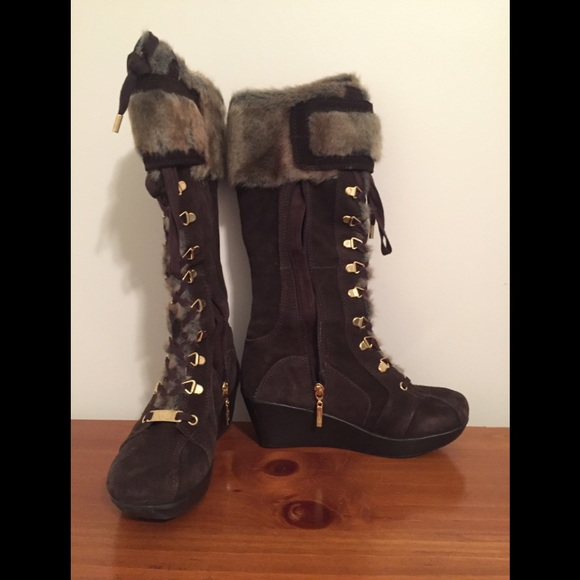 Report Shoes | Furry Boots | Poshmark