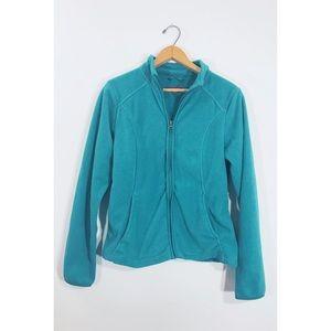 Women's Zip Up Fleece Jacket - Merona (size small)