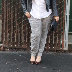 Pants - Grey Jogger Sweat Pants
