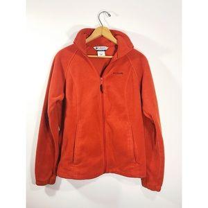 Women's Columbia Zip-Up Fleece Jacket (medium)