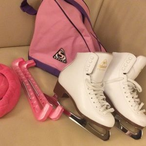 Other - Jackson Mystique Ice skates w/ accessories
