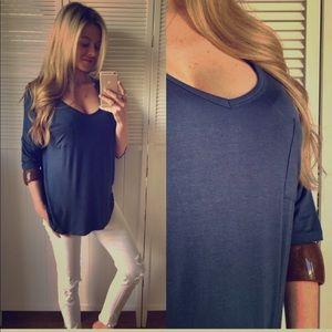 Tops - Blue tunic