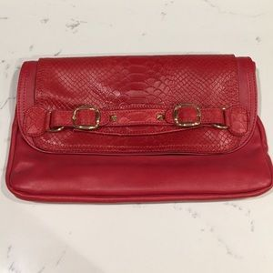 Gorgeous Red CC Skye clutch