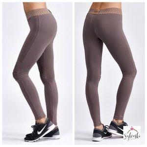 🆕Olympia Activewear Moto Clay Legging