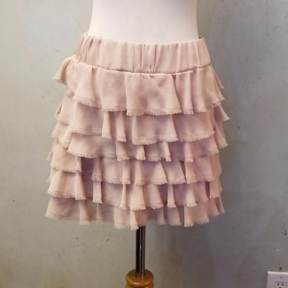 Zara Dresses & Skirts - Zara ruffled skirt