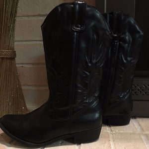Girls Sonoma Black Boots Size 5