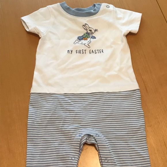 875d499c1a42 Baby Boy s Peter Rabbit Easter Outfit- 6-12m