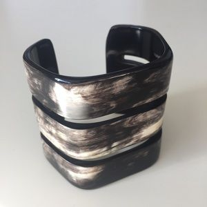 Handmade Natural Horn Bangle Cuff Bracelet gift